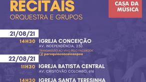 Orquestra Jovem e Escola Casa da Música realizam recitais