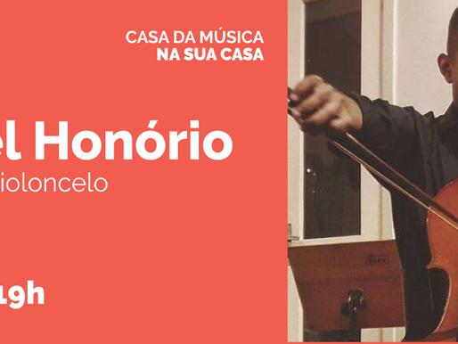 Rafael Honório é a próxima atração na CASA DA MÚSICA NA SUA CASA