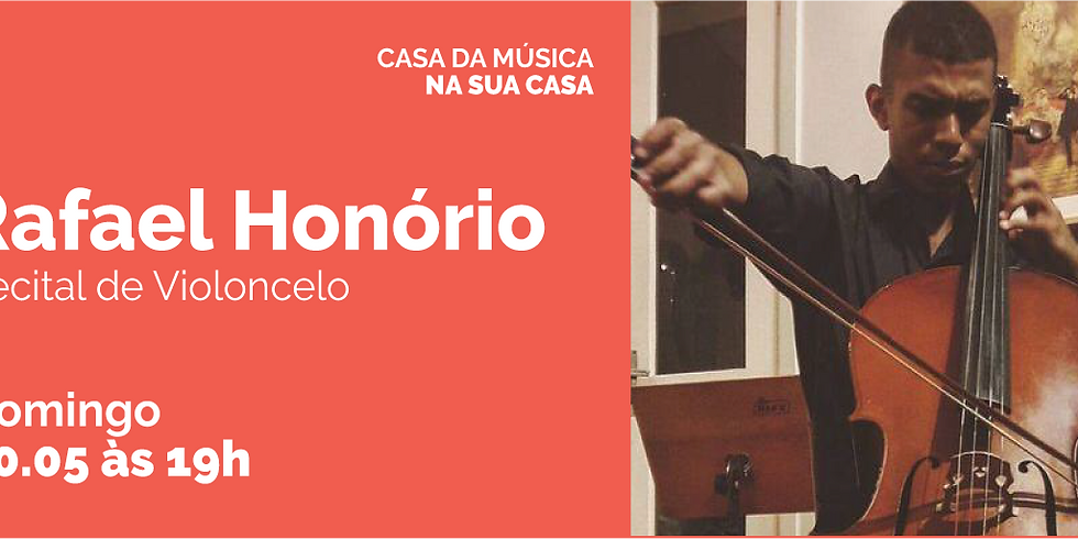 Casa da Música recebe Rafael Honório para Recital de Violoncelo