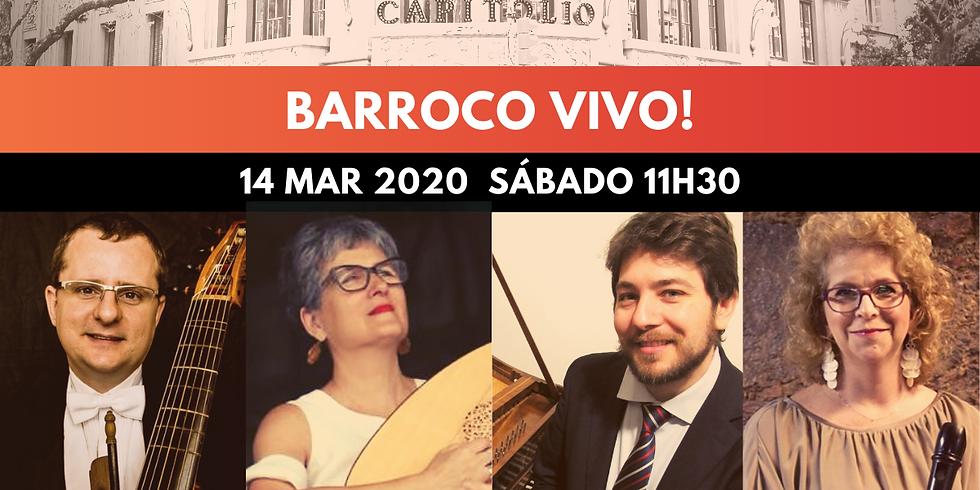 Concertos Capitólio apresenta Barroco Vivo!