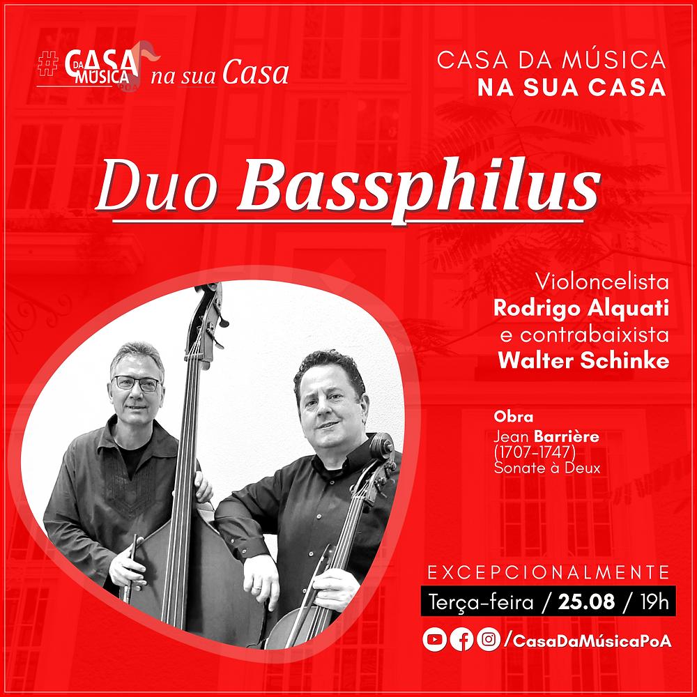 Duo Bassphilus na Casa da Música Poa