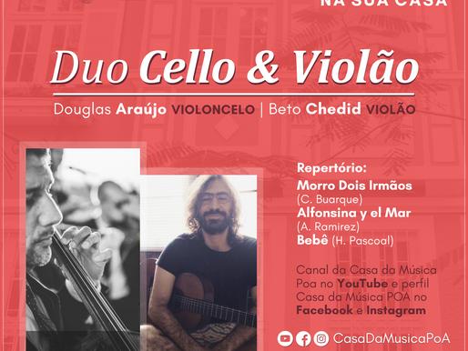 CASA DA MÚSICA NA SUA CASA apresenta Duo Los Pampas