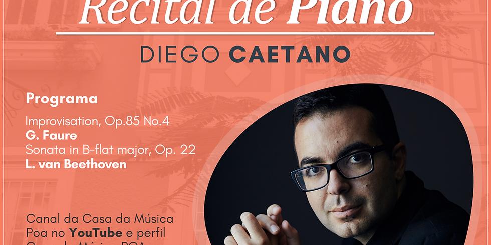 CASA DA MÚSICA NA SUA CASA apresenta recital de piano