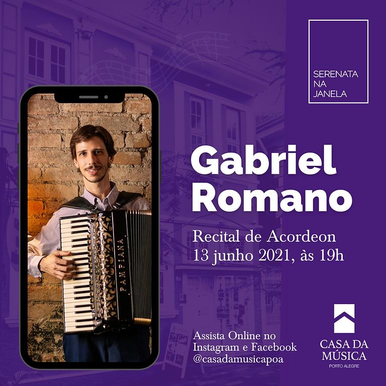 SERENATA NA JANELA promove recital de acordeon