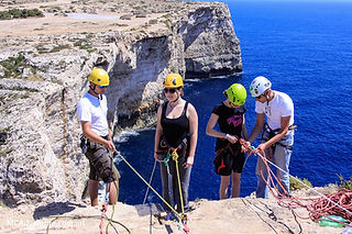 Things to do in Malta | Abseiling