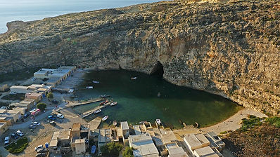 Azure Window Dwejra Aerial