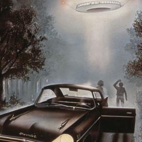 UFO close encounters and vehicle-engine failure