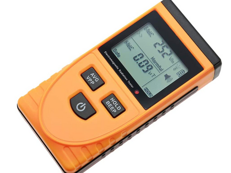 EMF meters and paranormal investigations
