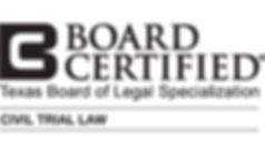 board certified litigation attorney lewisville
