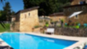 Piscine du Clos de la Canéda - Gîte et chambres d'hôtes à Sarlat