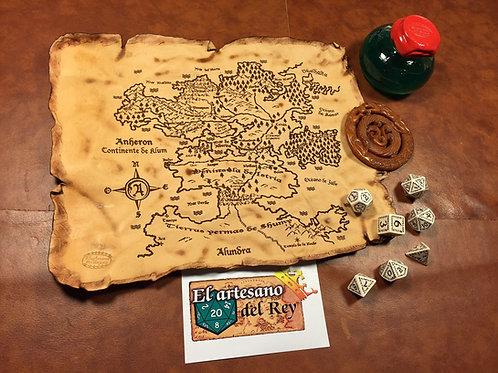 Mapa de Anheron