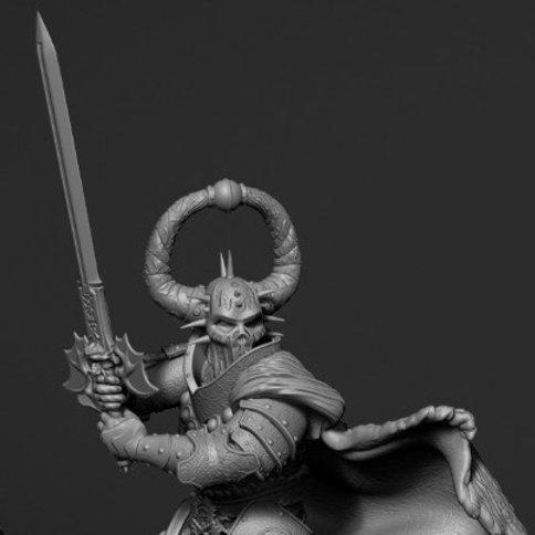 Lord Kharon-Rha (v2) 75mm