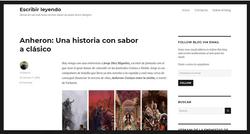Reportaje - Blog Escribir leyendo