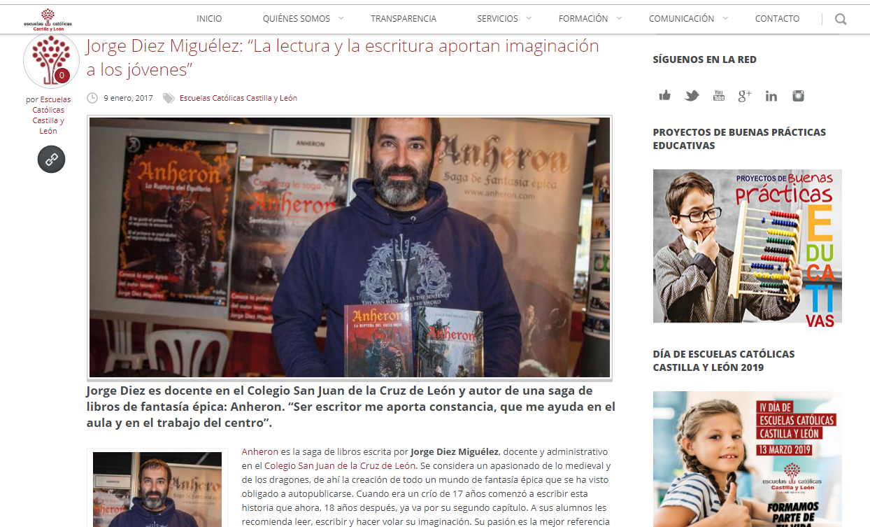 Entrevista - Educar en CyL