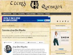 Entrevista - Web Tierra Quebrada