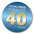 40years-clogfree-warranty.png