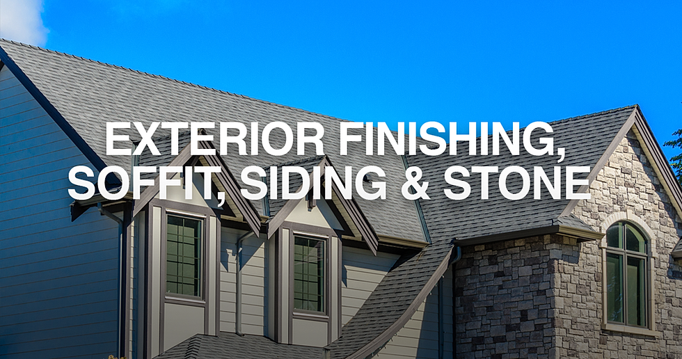 Cameron Exteriors Cultured Stone Siding Amp Gutters