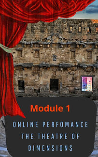 online perfomance the theatre of dimenti