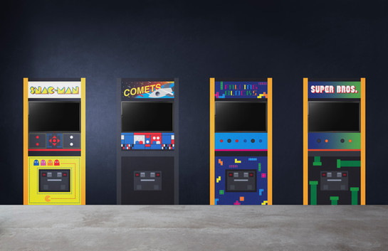 Arcade Game Wall Decals