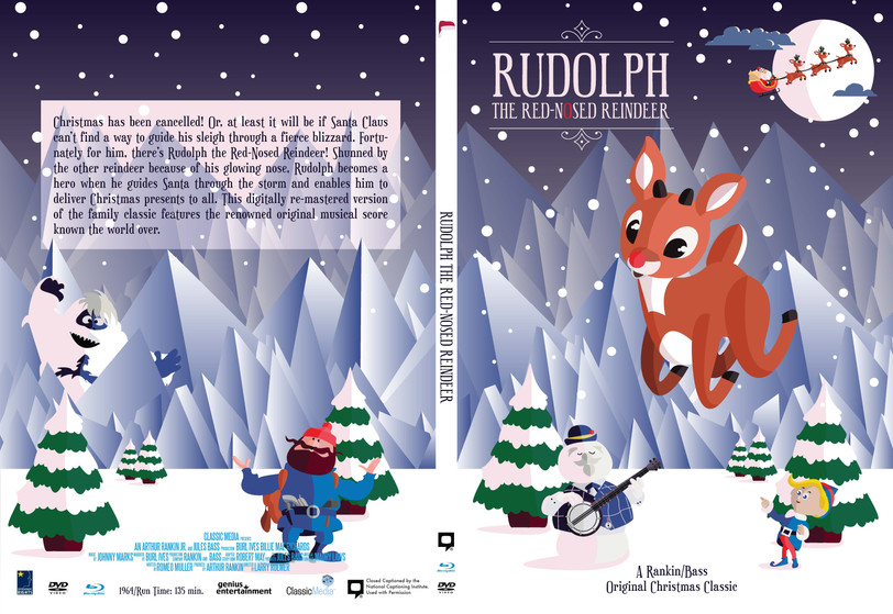 Rudolph the Red-Nosed Reindeer Case Art
