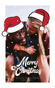 E+D Christmas Card