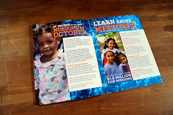 Missions Month Brochure
