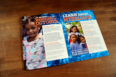 October is Missions Month Brochure