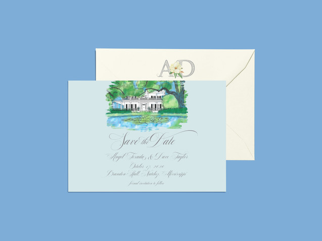 A & D Save the Date