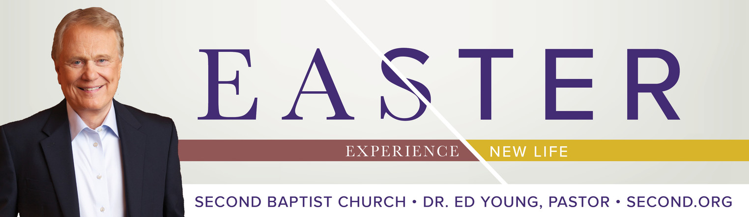 Easter: Experience New Life Billboard