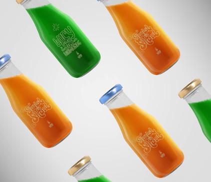 Lava Juice Bar Branding