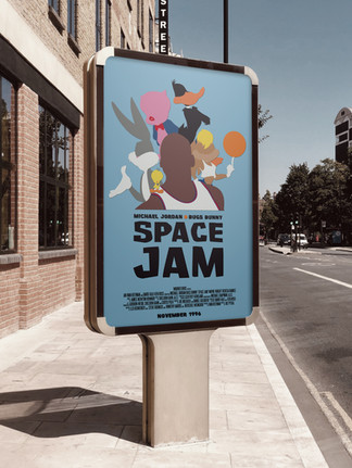 Space Jam DVD Cover Redesign