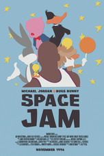 Space Jam Poster Redesign