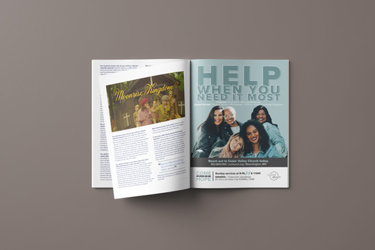 Cedar Valley Church Magazine Ad