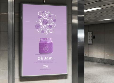 Subway Station Advertisement