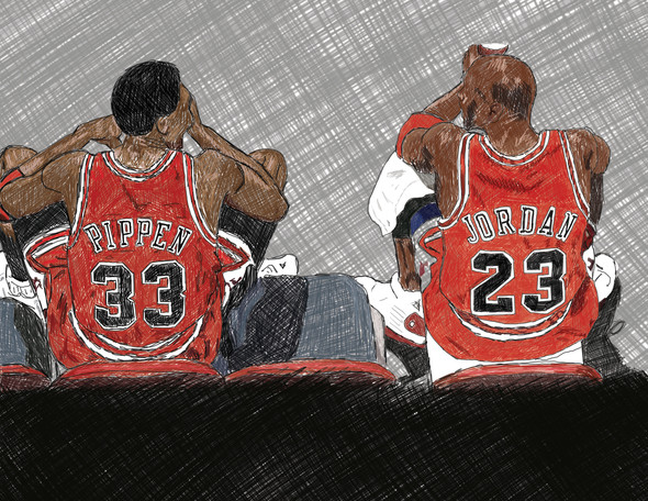 Pippen and MJ