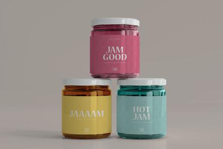 Gram's Jam Candles Branding