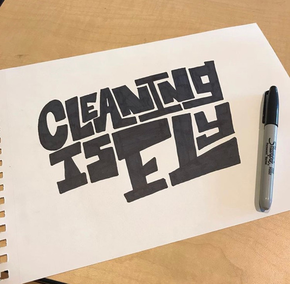 Cleaning is Fly