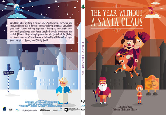 The Year Without a Santa  Claus Case Art