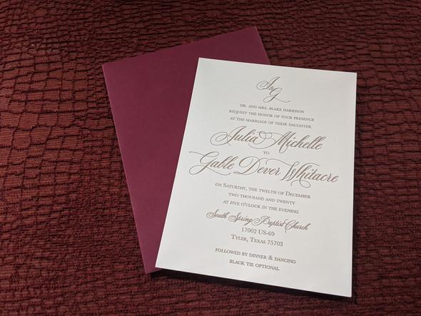 J&G Invitation