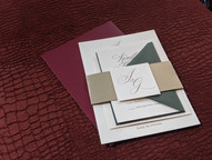 J+G Wedding Invitation Suite