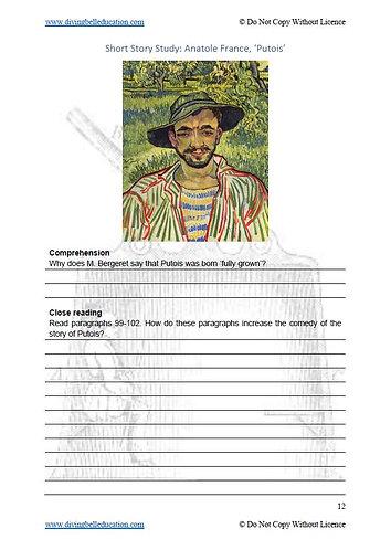 Short Story Study: Anatole France, 'Putois'