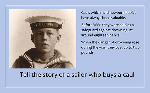 Creative Writing Prompt Card - Write a Sailor's Story