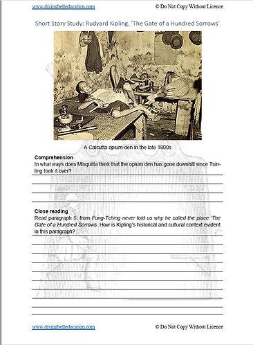 Short Story Study: Rudyard Kipling, 'Gate of 100 Sorrows'