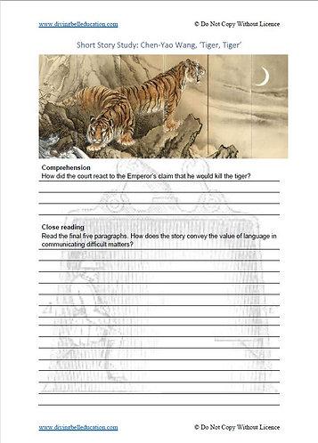 Short Story Study: Chen-Yao Wang, 'Tiger, Tiger'