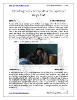 Talking Points - HSC Common Module: Billy Elliot