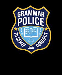 Teacher Grammar Checklist
