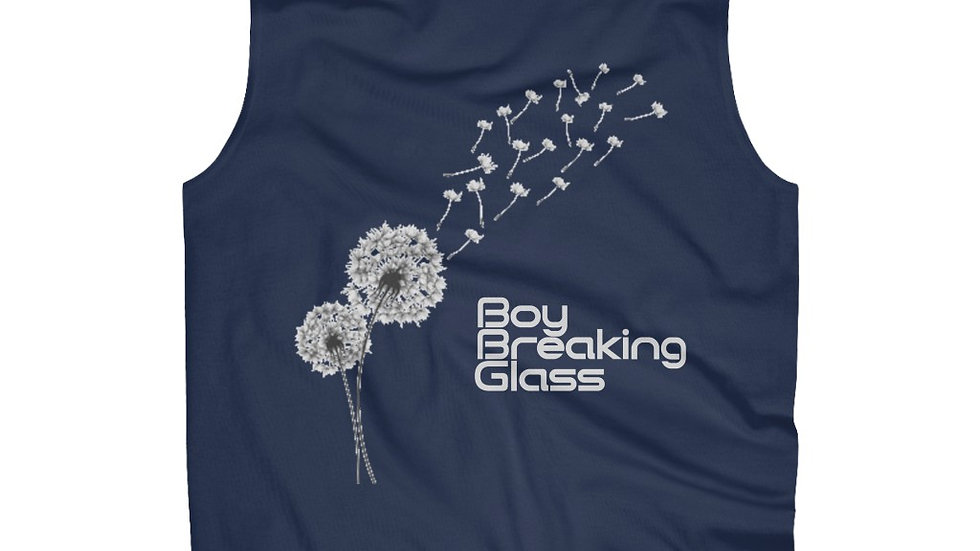 Boy Breaking Glass Men's Ultra Cotton Sleeveless Tank