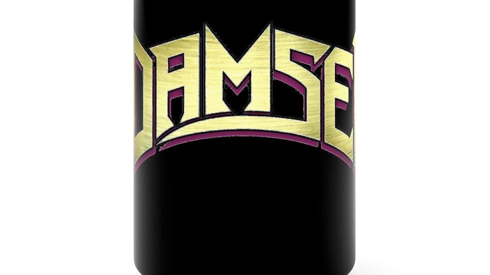 Damsel Black Mug 15oz