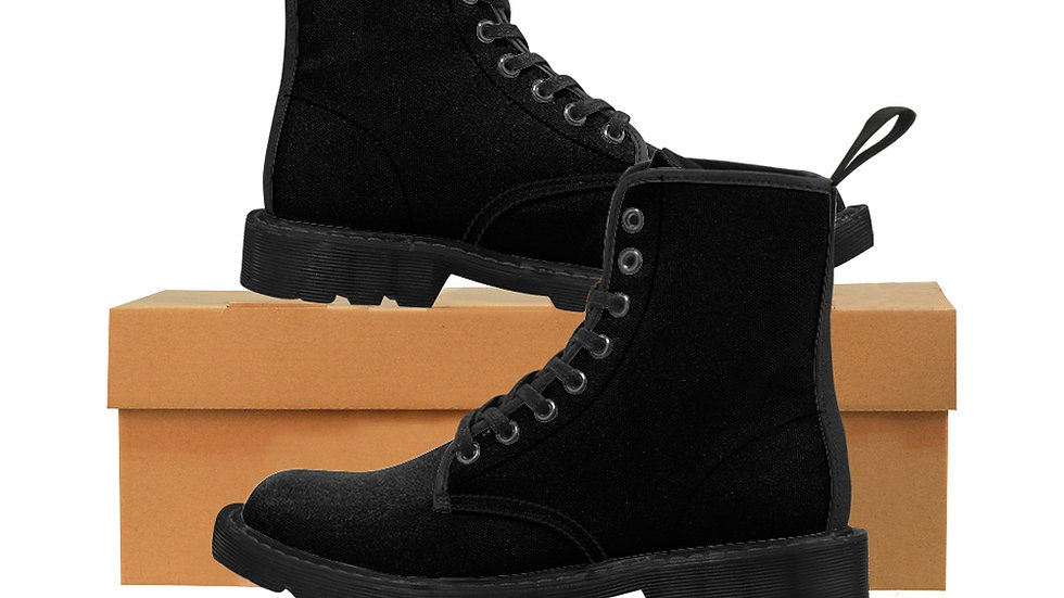 Suna Men's Canvas Boots