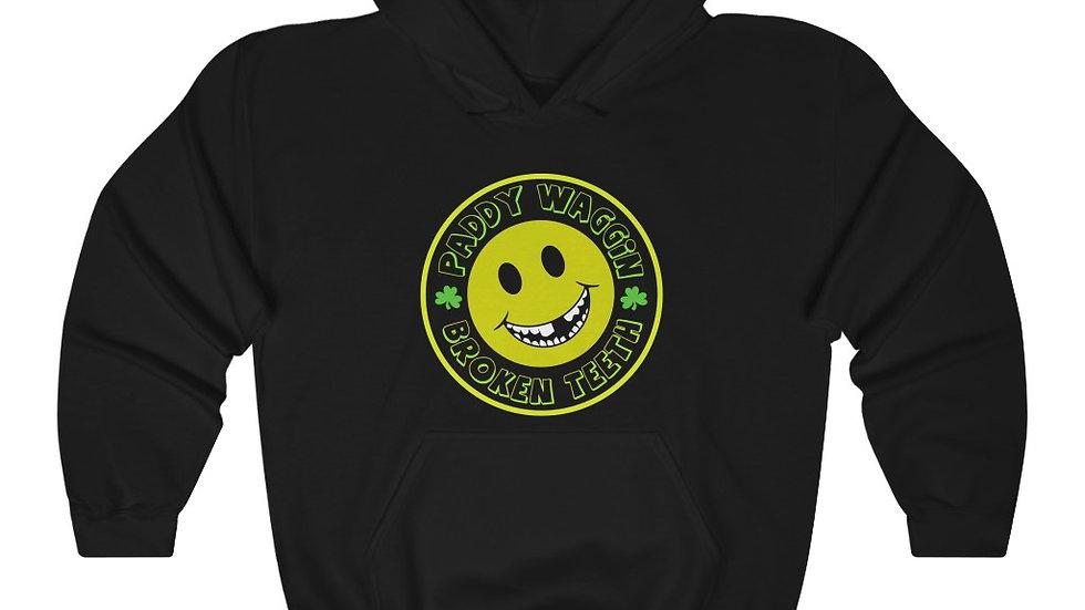 Paddywaggin Broken Teeth Unisex Heavy Blend™ Hooded Sweatshirt